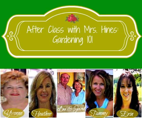 Find Everything You Need to Know to Start a Garden at www.sharonehines.com