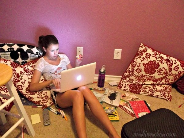home decor, Lamps Plus, DIY, teen room