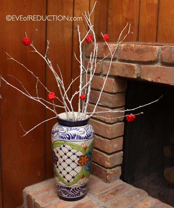 reduce reuse recycle, crafts, DIY, home decor, frugal living