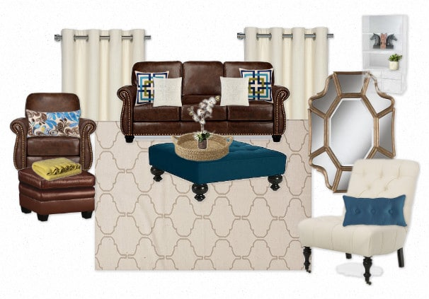 living room, home decor, traditional home, Lamps Plus, home accents, home accessories