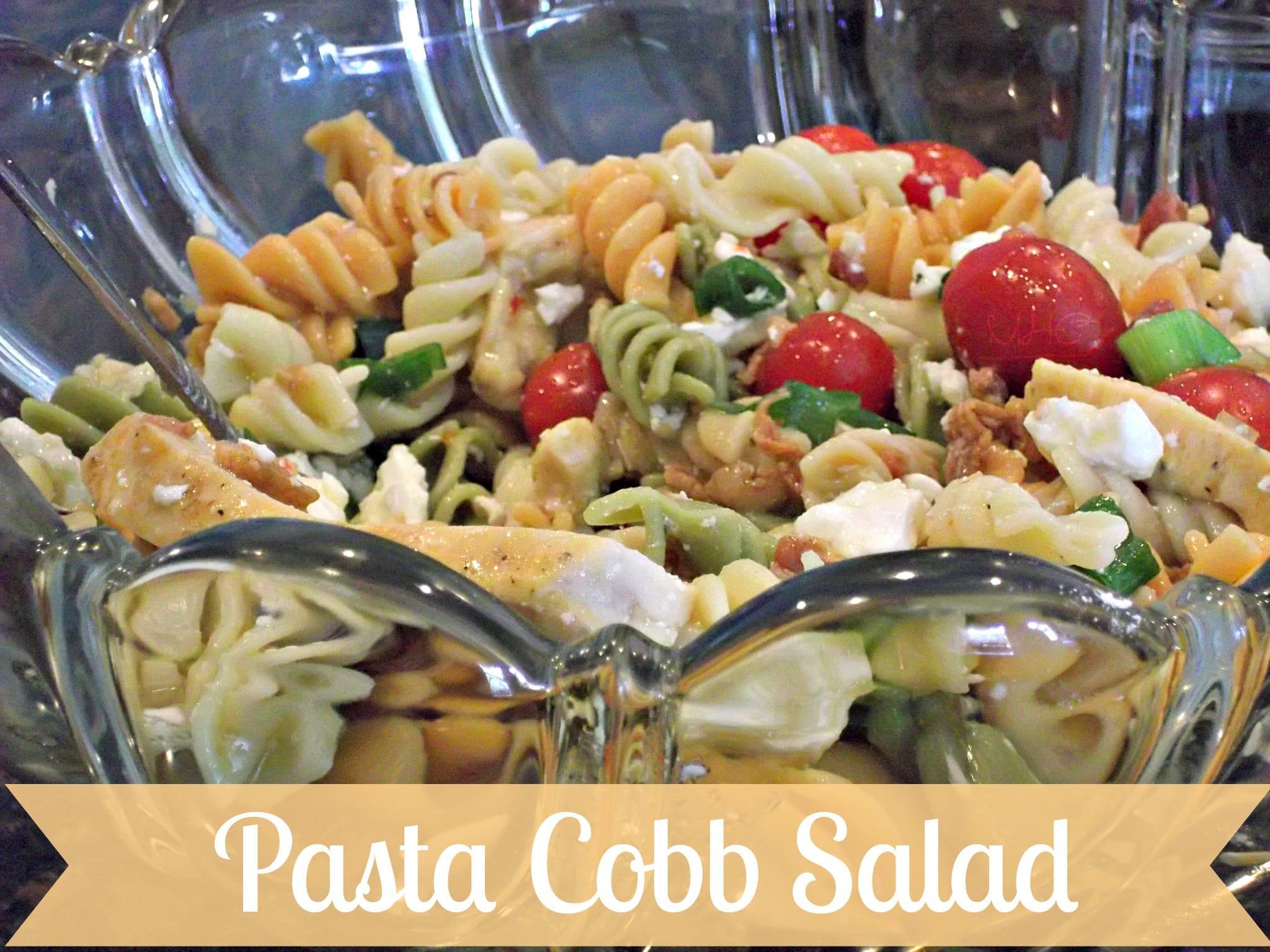 pasta cobb salad
