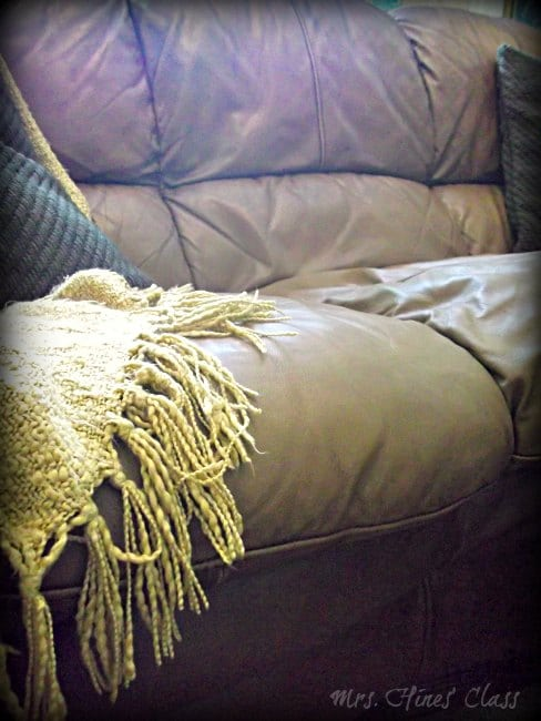 Warm and Cozy Fall Decor: Sharon E. Hines