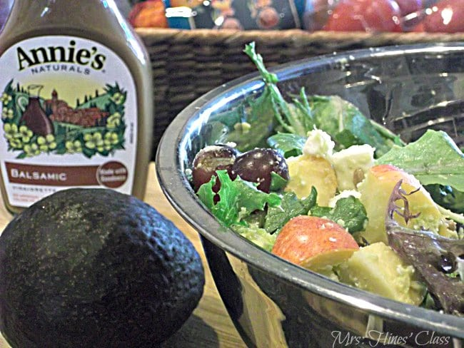 Enjoy in Season Fruit in a Delicious Chopped Salad: Sharon E. Hines