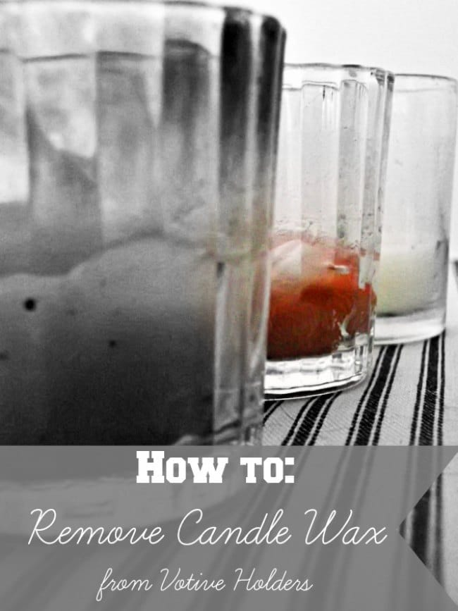 3 Handy Tricks for Removing Candle Wax from Votive Holders: Sharon E. Hines