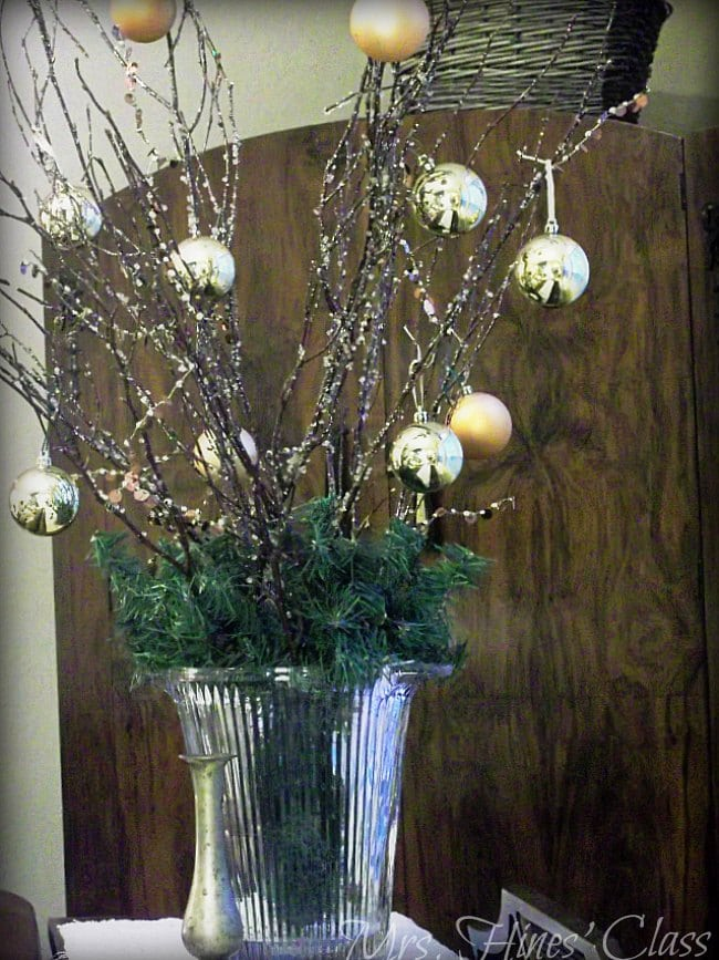 You're invited to Walk through the doors of this Woodland Theme Christmas Home Tour: Sharon E. Hines