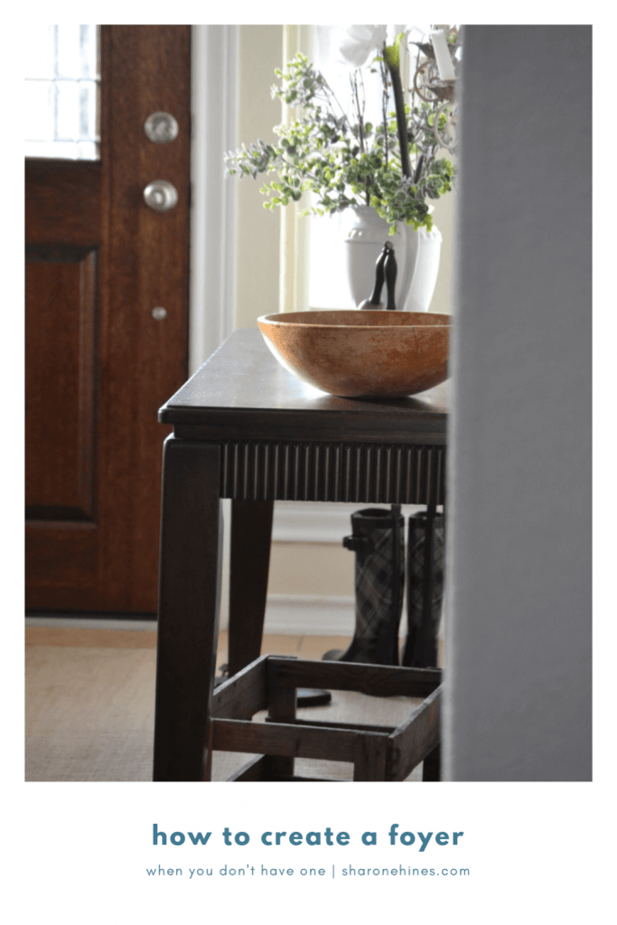 How to Create a Foyer