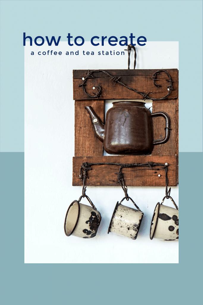 coffee and tea station