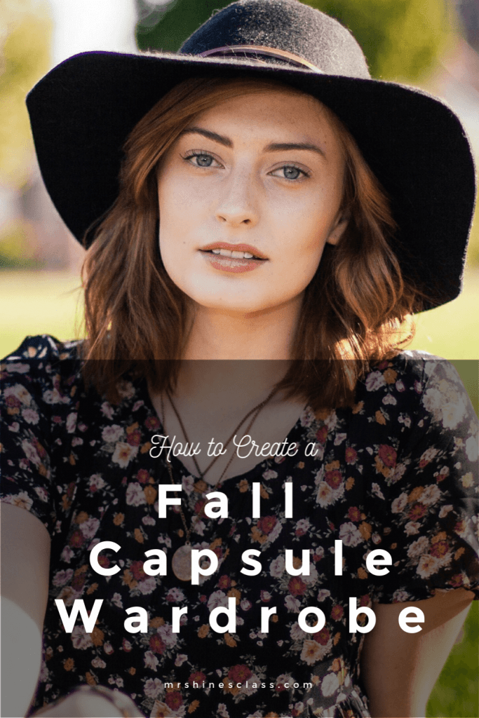 How to Create a Fall Capsule Wardrobe