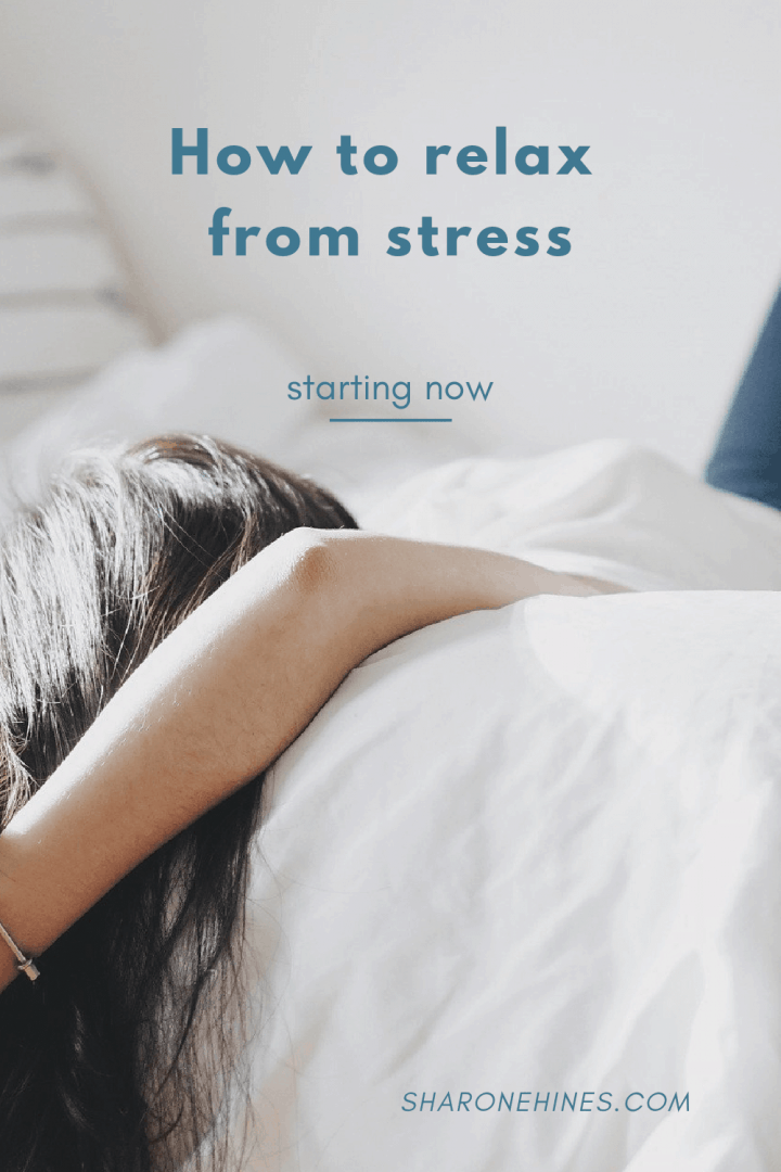 how to relax from stress
