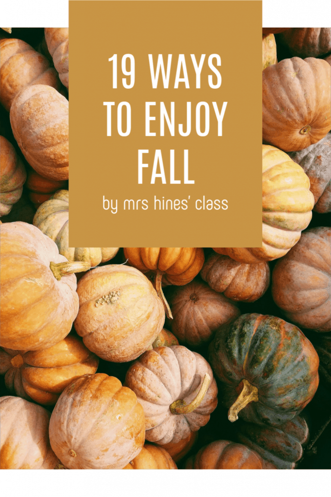 The end of Summer doesn't have to mean all work and no play. Check out my list of fun ways to enjoy Fall so you can avoid monotony and burnout.