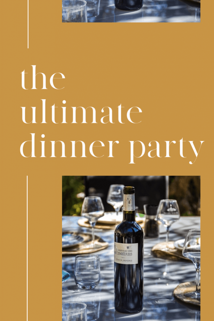 Dinner Party. Those words are enough so strike fear in the hearts of many. But what if there's a way to throw a dinner party without the stress? Keep reading to discover how.