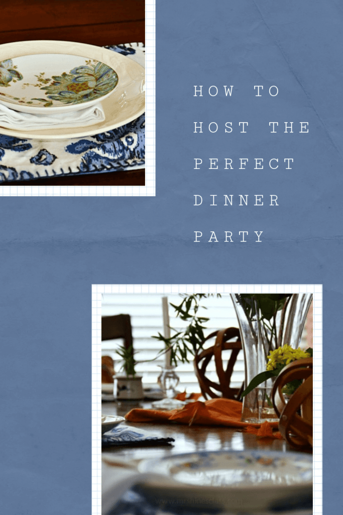 Dinner Party. Those words are enough so strike fear in the hearts of many. But what if there's a way to throw a dinner party without the stress? Keep reading to discover how. .