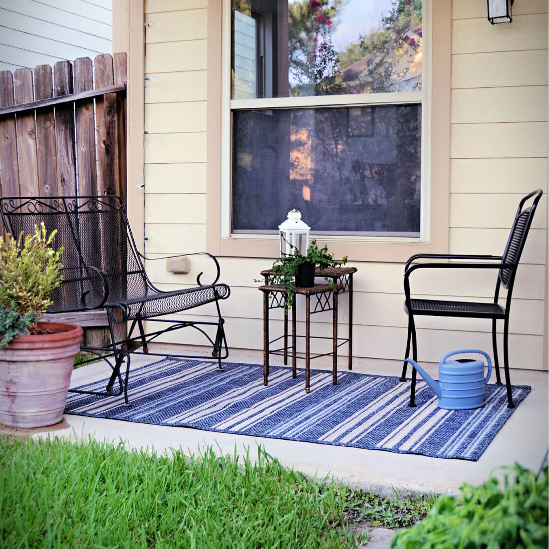 A Back Patio Makeover + 11 Fun Things to do in Your ...